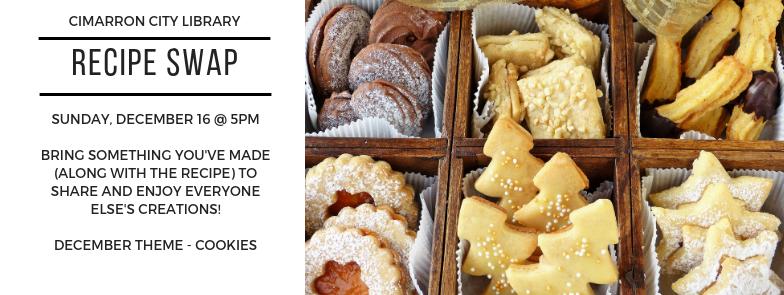 December Recipe Swap – Cookies