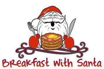 Image result for breakfast with santa clipart