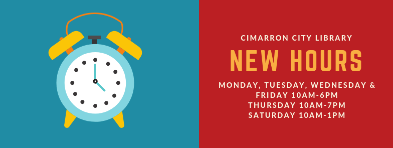 New Hours in 2019