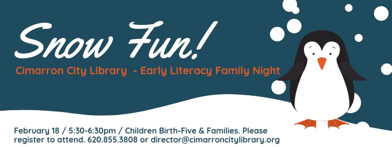 Early Literacy Family Night