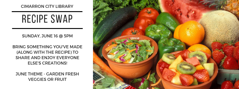 Recipe Swap – June