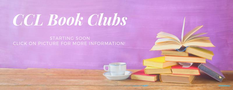 Book Clubs Beginning Soon!