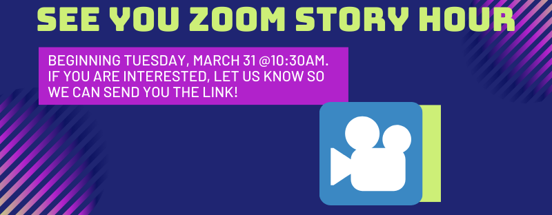 ZOOM Story Hour